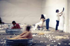 Aviva Rahmani, Suzanne Lacy, Judy Chicago, and Sandi Orgel, Ablutions (1972).